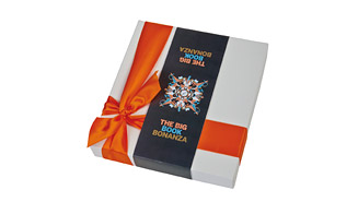 25-chocolate box, Full-colour printed sleeve