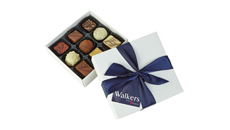 9-chocolate box, Full-colour printed gift card