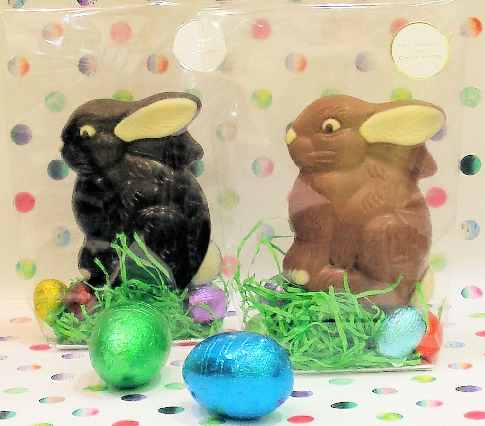 Dark & Milk Chocolate bunnies