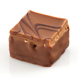 Millefeuille Lait - Roasted praline blended with fruity nougat