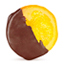 Rondelle  - Spanish orange slice dipped in dark chocolate