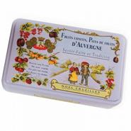 Pâtes de Fruits Assortment - mauve tin