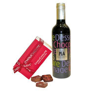 Mini Red Dessert Wine Hamper