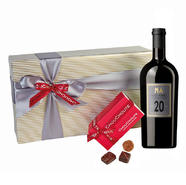 20 Years Aged Red Dessert Wine Box Hamper