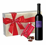 Red Dessert Wine Box Hamper