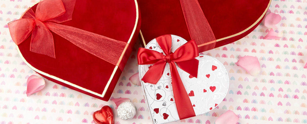 Luxury Heart Boxes